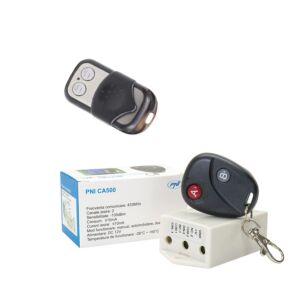 Ρελέ πακέτο με τηλεχειριστήριο PNI CA500 για 1 ή 2 πόρτες γκαράζ, πύλες, φράγματα + Πρόσθετο τηλεχειριστήριο