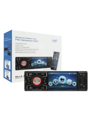 MP5 auto player PNI Clementine 9545 1DIN οθόνη 4 ιντσών, 50Wx4, Bluetooth, ραδιόφωνο FM, SD και USB, 2 RCA video IN / OUT