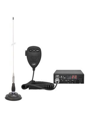 CB PNI ESCORT HP 8000L Κιτ ραδιοφωνικού σταθμού ASQ + Κεραία CB PNI ML100
