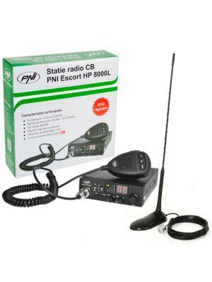 CB PNI ESCORT HP 8000L Κιτ ραδιοφωνικού σταθμού ASQ + CB PNI Extra 45 Κεραία με μαγνήτη